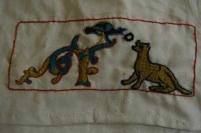 Besace d'après tapisserie de Bayeux SG1L9291