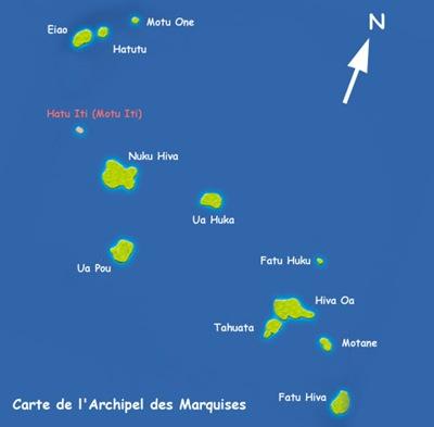 Carte des Marquises
