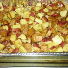 Roasted Kielbasa & Potatoes