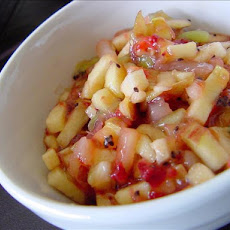 Apple Strawberry Salsa