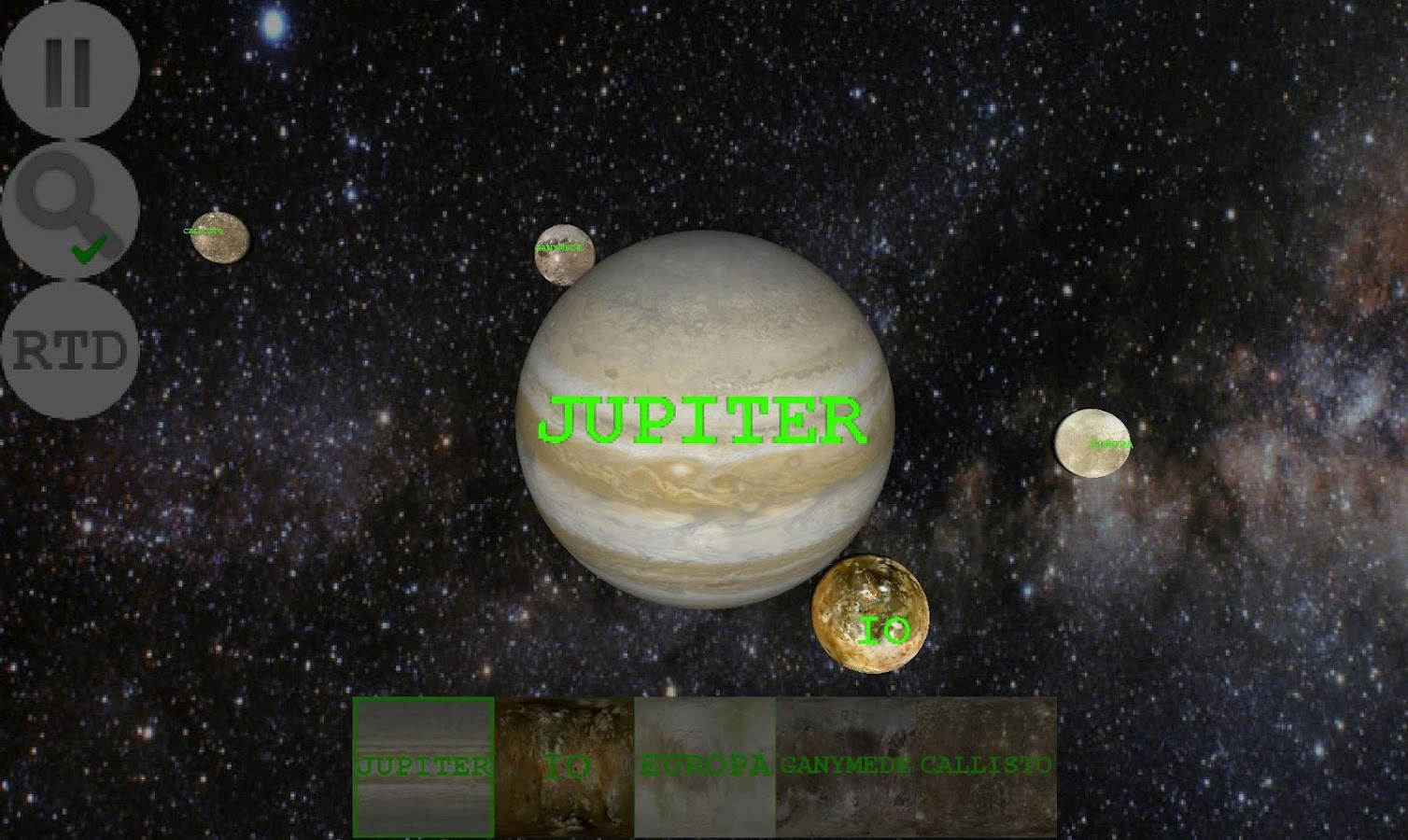 Planet Finder + Screenshot 2