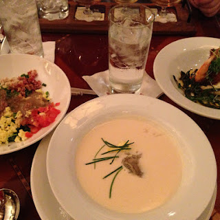 Oyster Brie Soup- Hollywood Brown Derby