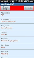 Screenshot of BSAVA Formulary 7th Edition