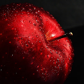 A Red Apple by Prasanta Das - Food & Drink Fruits & Vegetables ( red, apple, delicious )
