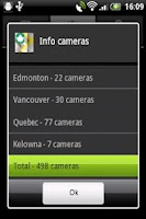 Screenshot of Canada Traffic Cameras