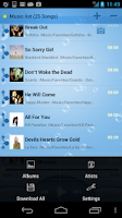 Screenshot of MusicDropNPlayLite for Dropbox
