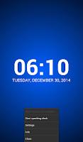 Screenshot of Speaking Clock: TellMeTheTime