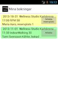 Screenshot of Wellness