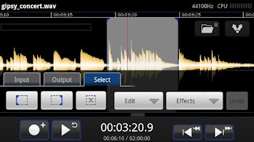 Screenshot of TapeMachine Lite Recorder