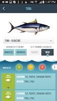 Screenshot of Seafood Watch