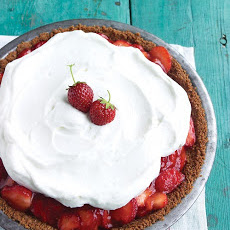 Strawberry Icebox Pie