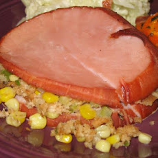 Stuffed Ham Slices