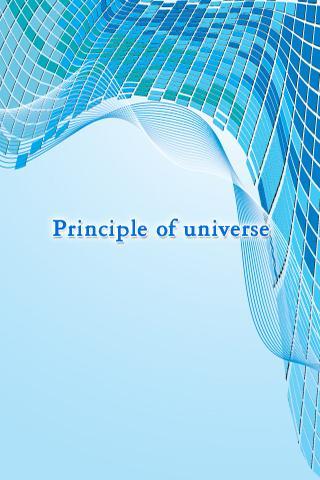 Principle Of Universe