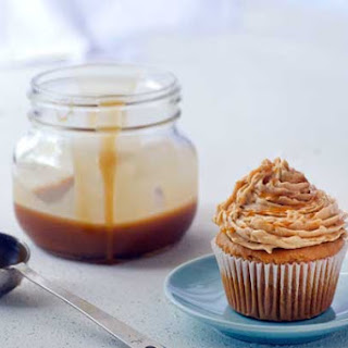Gluten Free Refined Sugar Free Salted Caramel Cupcakes