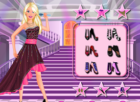 Screenshot of Popstar dressup – Girl dressup