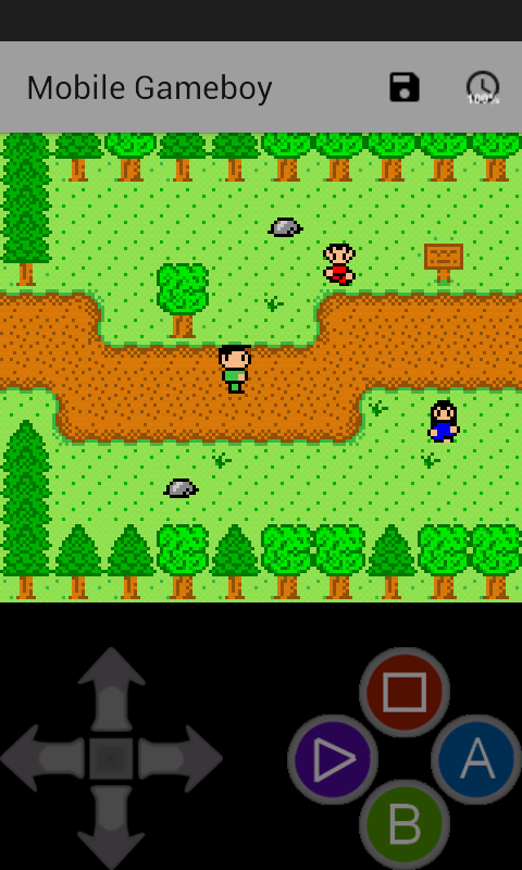 Mobile Gameboy Screenshot 1