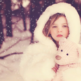 In Ice and Snow by Leigh Frudiger-Vanderland - Babies & Children Child Portraits