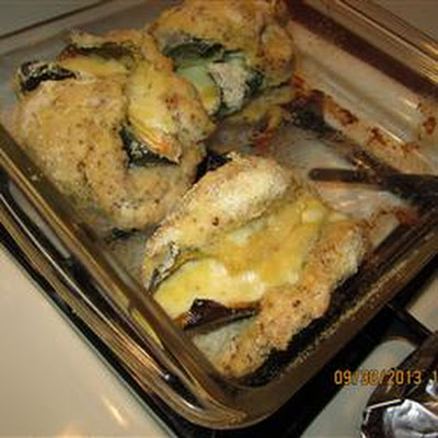 Shannon's Lower Fat Chile Relleno