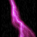 Live Wall: ThunderStorm Pink! icon