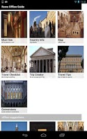Screenshot of Rome Offline Travel Guide