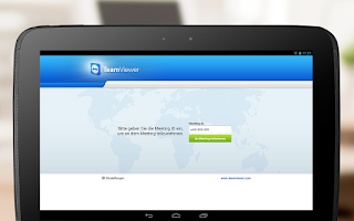Screenshot of TeamViewer for Meetings