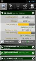 Screenshot of Car Maintenance Reminder Lite