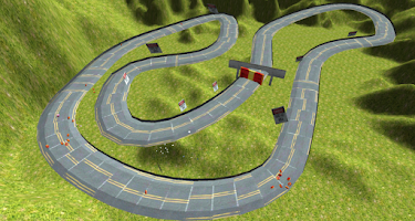 Screenshot of Crash race