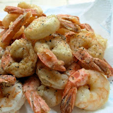 Salt and Pepper Prawns (Shrimp)