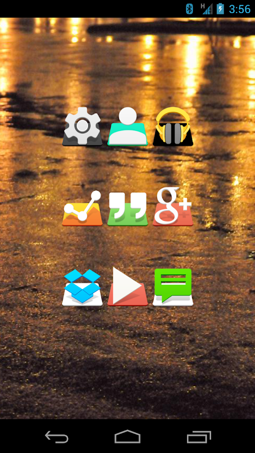 RAISE - Icon Pack Screenshot 0