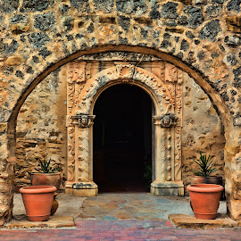 Mission San Jose by Sandra Maldonado - Buildings & Architecture Public & Historical ( mission san jose, mission, texas, san antonio )