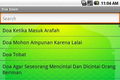 doa-islam for android screenshot