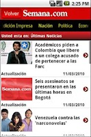 Screenshot of Semana.com