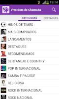 Screenshot of Vivo Som de Chamada