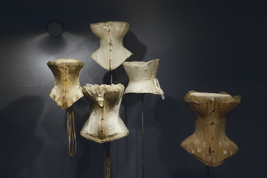 Not only did the corset support the bosom and idealize the figure, its status as underwear implicitly alluded to the act of undressing and making love. Paradoxically, the corset was also a sign of respectability, because it controlled the body and, by extension, the physical passions. A strait-laced woman was not loose.