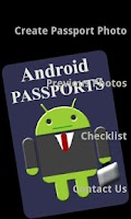 Screenshot of Android Passports