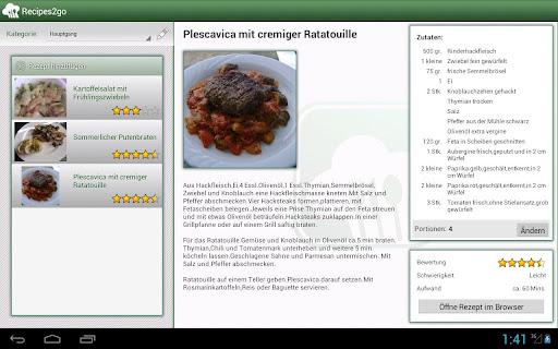 Recipes2go ProKey