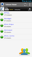 Screenshot of Twitcam Viewer