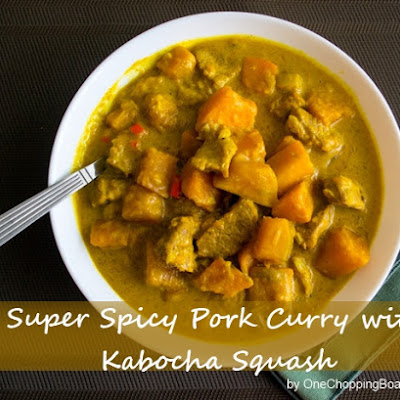 Super Spicy Pork Curry with Kabocha Squash