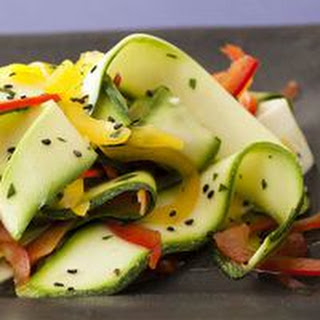 Zucchini Ribbons With Lemon And Garlic Recipes