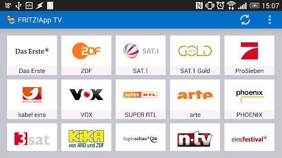 FRITZ!App TV Screenshot