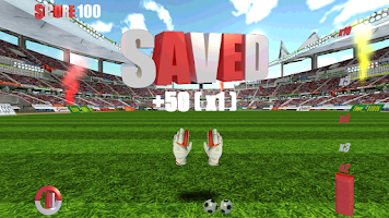 Screenshot of Penalty Shootout 3D