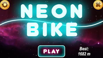 Screenshot of Neon Bike