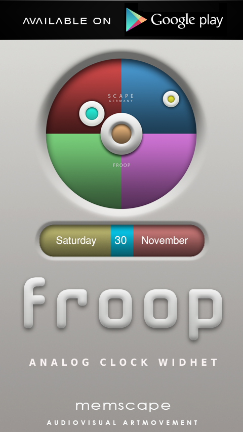 FROOP Next Launcher 3D Theme Screenshot 4