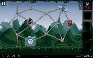 Screenshot of Greedy Spiders 2