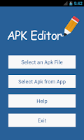 Screenshot of APK Editor Pro