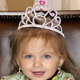 My Princess by Luanne Bullard Everden - Babies & Children Toddlers ( girls, candids, children, princesses, toddlers, smiles, tiaras )