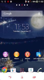 App XPERIA™ Christmas Theme APK for Windows Phone