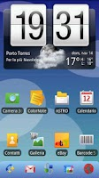 Screenshot of ADWTheme Old Nokia Style Donat