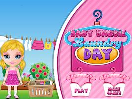 Screenshot of Baby Laundry Day