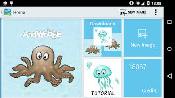 Screenshot of AndWobble